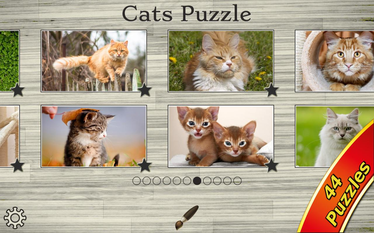 Cats & Kitten Kids Puzzle Game- screenshot