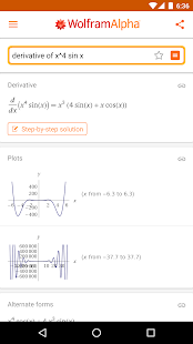 WolframAlpha- screenshot thumbnail