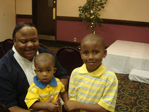 Photo: Stepfather & Nephews - Ron, Alizjah & Izjan