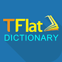 Dich tieng Anh - Tu dien Anh Viet TFlat icon