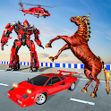 Real Horse Robot Transformation War icon