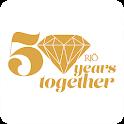 RJO Celebrates 50 icon