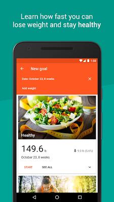 Healthy Weight: tracker & BMI - screenshot
