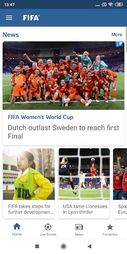 FIFA - Tournaments, Soccer News & Live Scores 4.3.203 screenshots 1