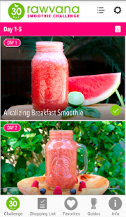 Rawvana Smoothie Challenge- screenshot thumbnail
