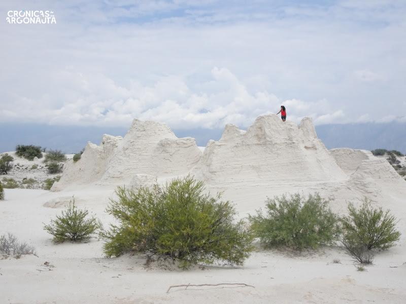 El castillo de las dunas de yeso