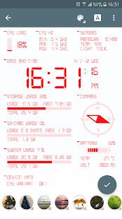 Oajoo Device Info Wallpaper - náhled