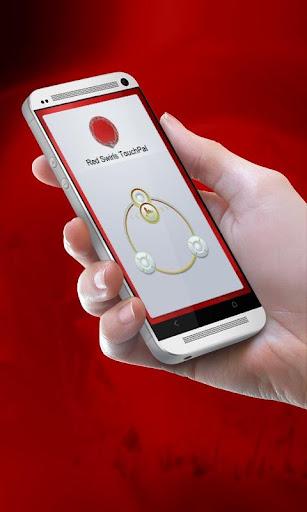 红色漩涡 TouchPal