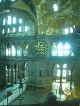 Photo: Hagia Sophia's interior
