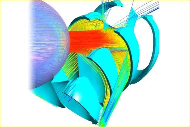 ANSYS - Моделирование многофазного течения в гидротурбине
