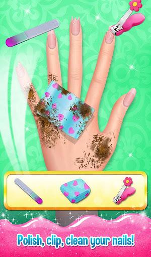 Nail Art Shiny Design Salon - Sweet Girls Manicure image   12