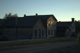 Photo: Bannock, MT - first territorial capital of Montana and now a state park