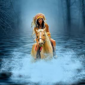 My Horse by Joey Bangun - Digital Art Things