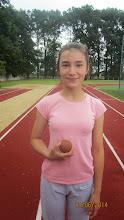 Photo: Marzena Małys Z- złota medalistka