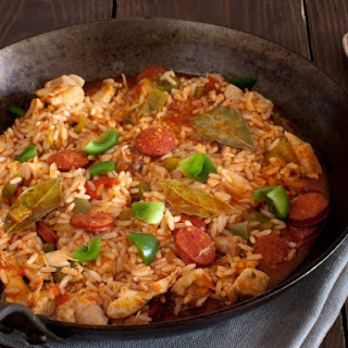 Dr. Bachelor's Jam-On-It Chicken and Sausage Jambalaya