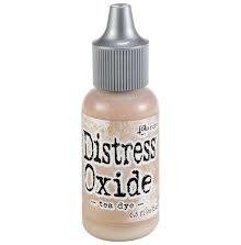 Tim Holtz Distress Oxide Ink Reinker 14ml - Tea Dye