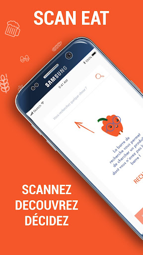 Scan Eat - Scanner alimentaire pour mieux manger  screenshots 1