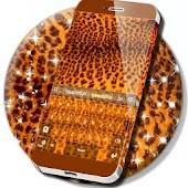 Leopard Print Keyboard Theme