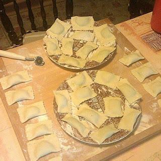 Vegane Tortellini mit Räuchertofu-Spinat-Füllung
