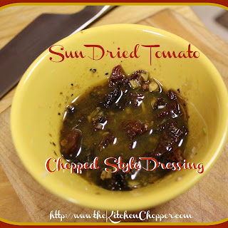 Sun Dried Tomato Chopped Style Dressing