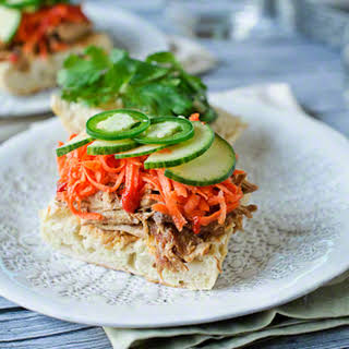 Slow Cooked | Bánh Mì {Vietnamese-style Sandwich}.