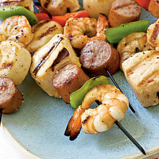 Seafood Kebabs Sauce Recipes.