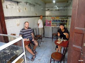 Photo: na snídani u pána - doject řezy a dortíky od včera