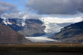 Photo: Another crazy glacier in Southern Iceland