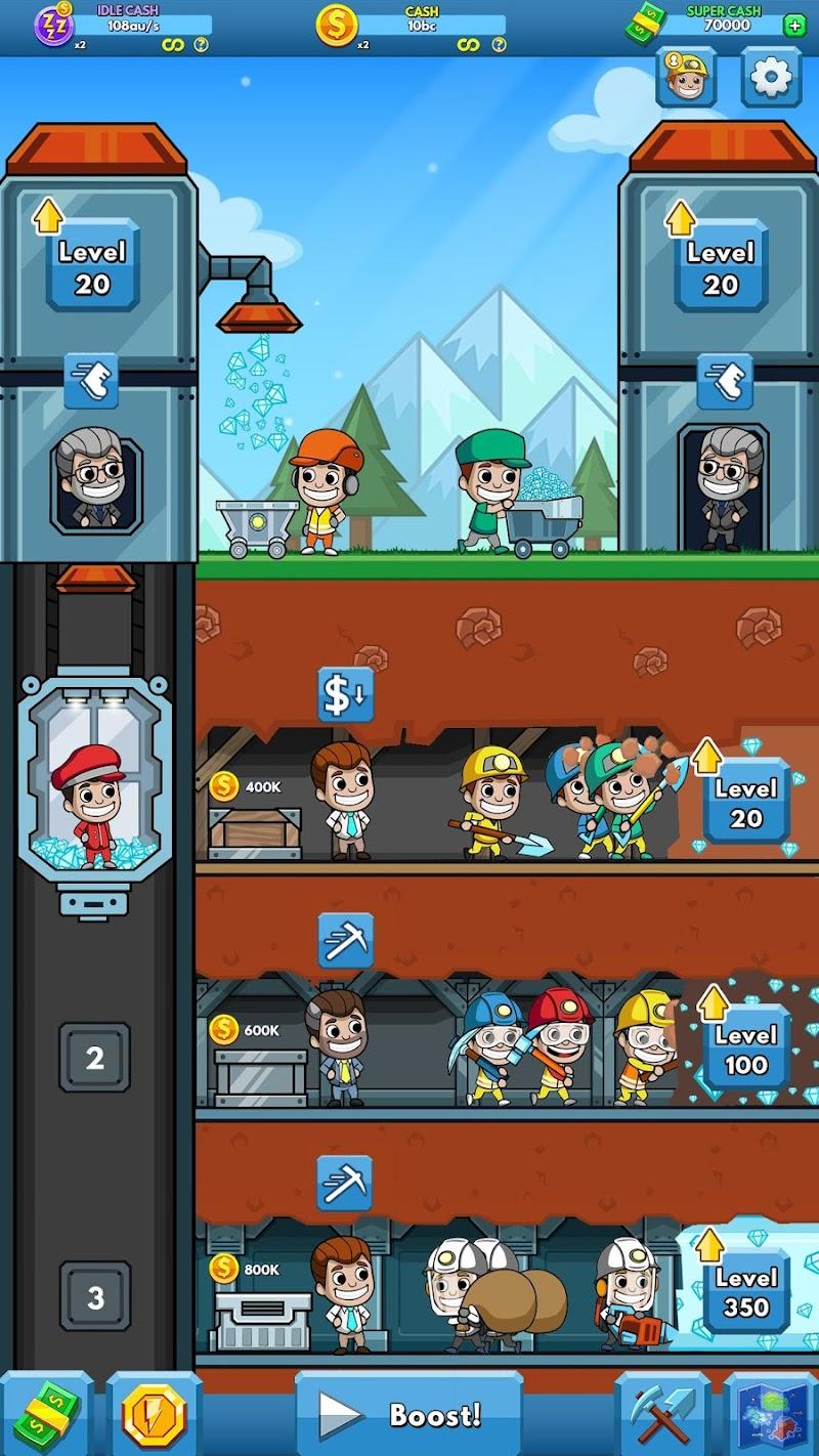 Idle Miner Tycoon Screenshot 5