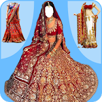 Bridal Lehenga Dress - Women Lehenga Photo Editor Icon