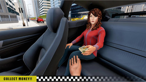 Mobile Taxi Car Driving Games Police Car Simulator 1.4 screenshots 5