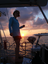 Photo: Anne Grilling at anchor off Cape Sable