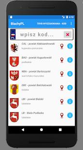 BlachyPL: Polskie Tablice Rejestracyjne - náhled