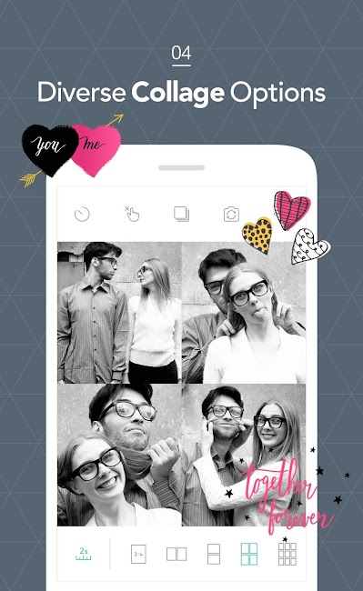 #4. Candy Camera - Selfie Photo (Android)