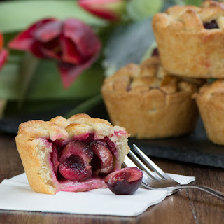 Cherry Pies With A Pretty Lattice Top