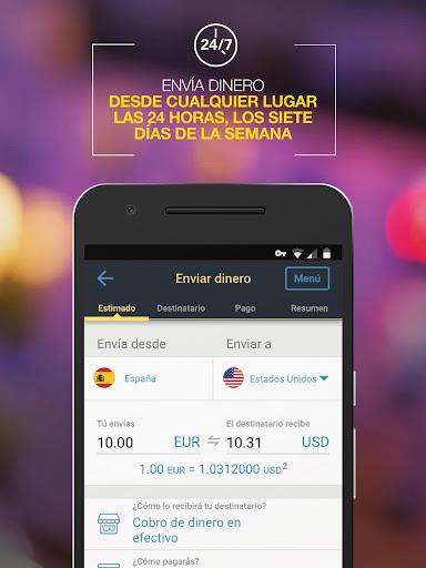 Western Union ES - Envía Dinero screenshot 2