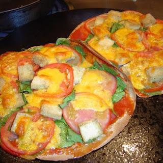 Greek Tortilla Pizza