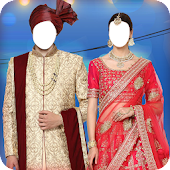 Couple Photo Suit Editor Icon