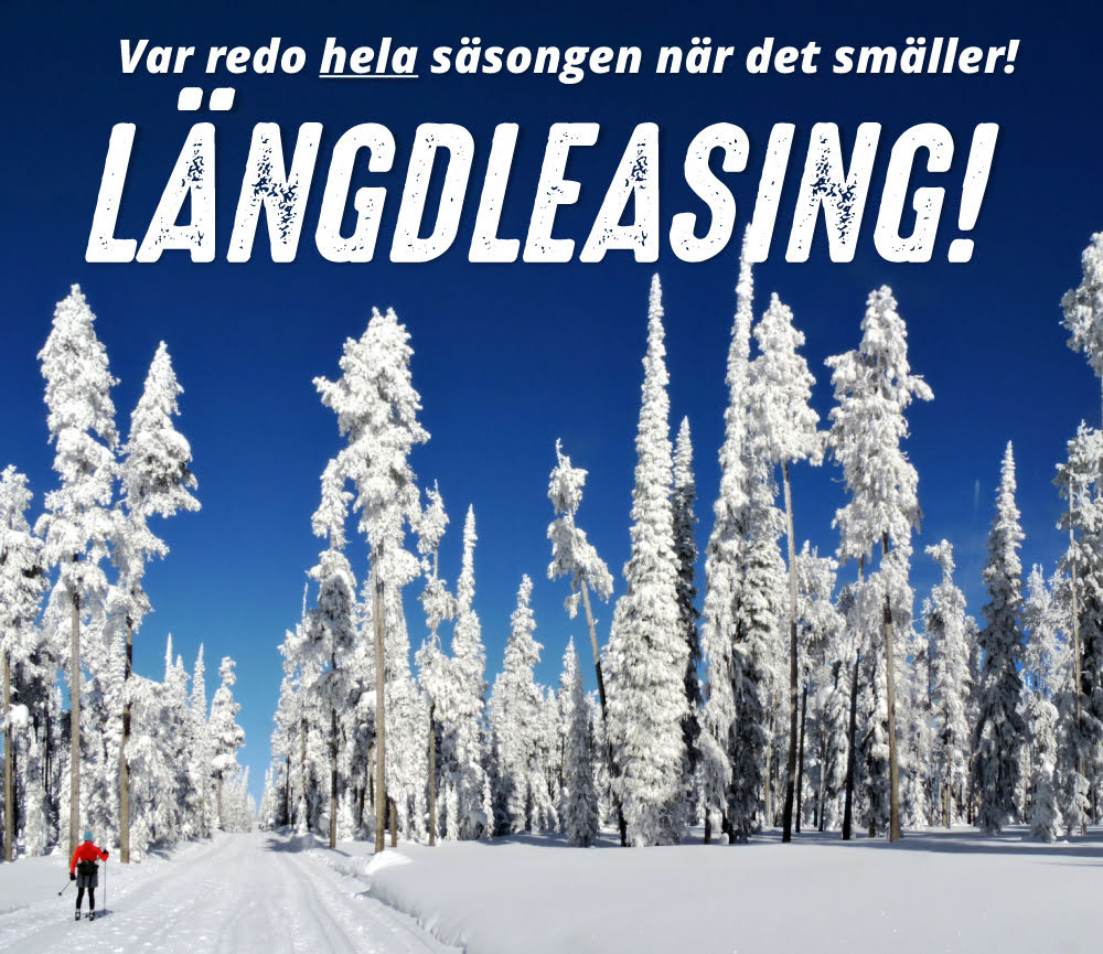 9. Längdleasing - barn/junior