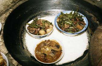 Photo: 11155 揚州/湾頭人民公社/民家/料理