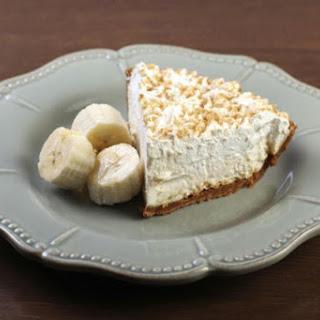 Banana Cream Pie with Coconut