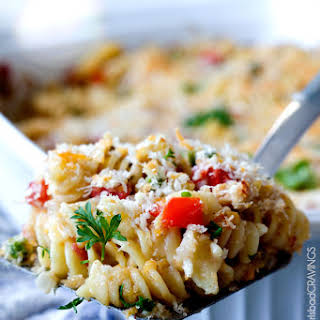 Cajun Bacon Tuna Pasta Bake.