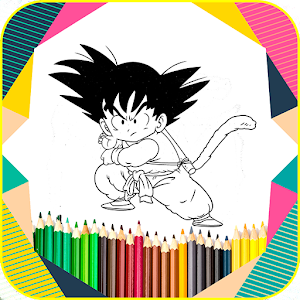 Coloring Book For Dragon BZ for PC