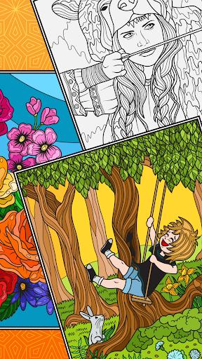 Télécharger Gratuit ColorSky: livre de coloriage anti-stress gratuit mod apk screenshots 5