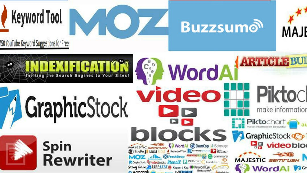 Group Buy Seo Tools - Group buy share some tools that you can choose:  Majestic, Moz, Kwfinder, Keyword tool, Buzzsumo, ArticleBuilder, etc. over  37+ SEO tools
