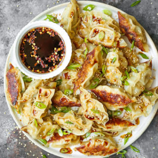 Garlic Ginger Chicken Potstickers Recipe