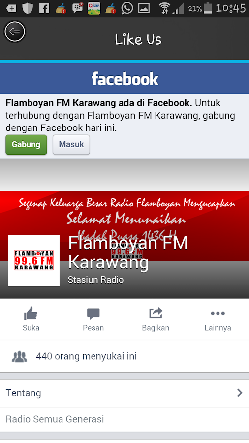 Flamboyan FM Karawang- screenshot