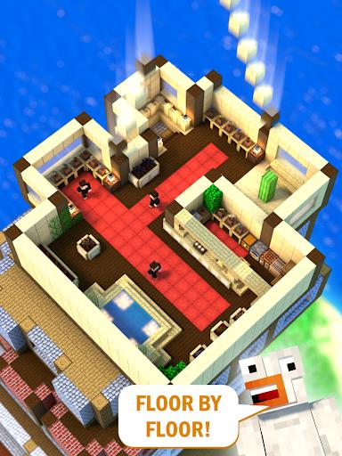Tower Craft 3D - Idle Block Building Game filehippodl screenshot 6