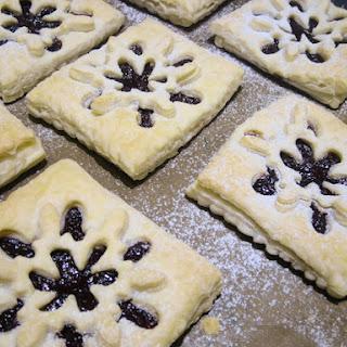Vegan Plum Puff Pastries.