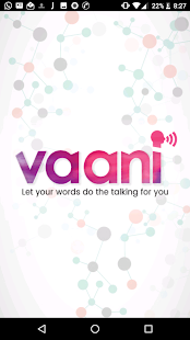 VAANI - Let your words do the talking for you - náhled